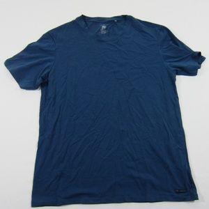 Ted Baker London Men's Crew Neck Navy T-shirt L